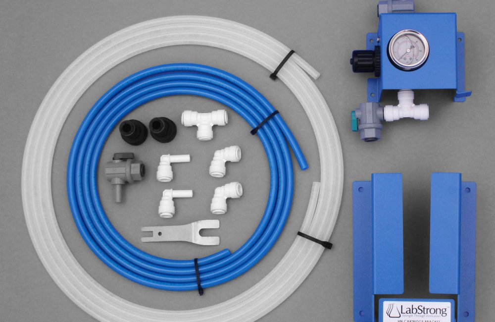 AY0017-1_Wall Mount Kit (Bracket Assembly and Pressure Regulator)_LabStrong_White (2)