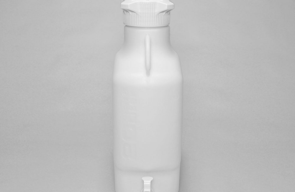 White carboy for water storage